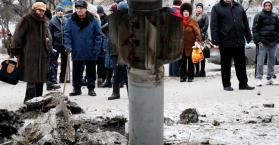 بوروشينكو: صواريخ تقصف مقر الجيش في شرق أوكرانيا وسقوط قتلى