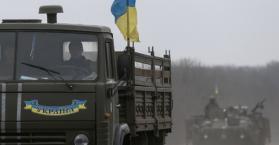 مصرع 4 ضباط أوكرانيين إثر استهداف سيارتهم قرب لوهانسك شرق البلاد