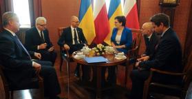 ياتسينيوك: أوكرانيا تريد أن تصبح جزءا من مجمع الغاز الأوروبي الجديد