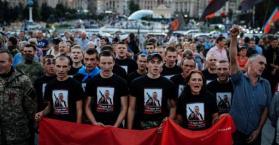 """زعيم """"القطاع اليميني"""" في أوكرانيا يهدد السلطات باحتجاجات واسعة"""