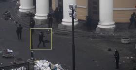 فيديو جديد لقتل المتظاهرين بميدان الاستقلال وسط العاصمة الأوكرانية (فيديو)