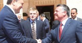 مباحثات وتوقيع اتفاقيات في أول أيام زيارة الرئيس الأوكراني يانوكوفيتش إلى الأردن