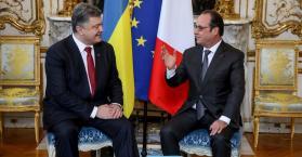 هولاند: مسألة إرسال قوات حفظ السلام إلى أوكرانيا غير واردة