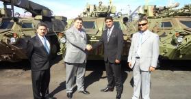 """أوكرانيا ترسل دفعة ثانية من عربات """"بي تي آر 4"""" المدرعة إلى العراق"""