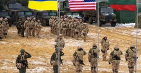 """الجيش الأوكراني يشارك في مناورات لحلف شمال الأطلسي """"الناتو"""""""