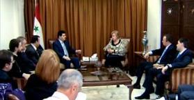 وزير الإعلام السوري يشيد بموقف أوكرانيا من الأزمة في بلاده