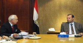 بحث استمرارية تدفق القمح الأوكراني وتعزيز العلاقات الاستثمارية بين مصر وأوكرانيا