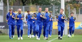 المدرب بلوخين يعلن تشكيلة المنتخب الأوكراني لخوض بطولة اليورو 2012