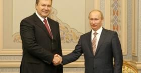 يانوكوفيتش وبوتين يتفقان على إعادة ترسيم الحدود المائية بين أوكرانيا وروسيا