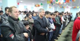 مسلمو أوكرانيا يحتفلون بعيد الأضحى المبارك 1433هـ