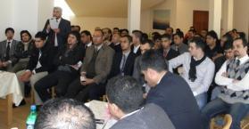 لقاء في السفارة العراقية يبحث أوضاع وقضايا الطلبة العراقيين في أوكرانيا