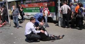 إصابة 27 شخصا جراء انفجارات بمدينة دنيبروبيتروفسك في أوكرانيا، بينهم 9 أطفال