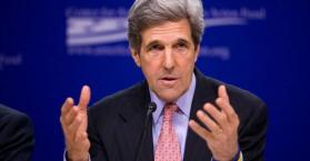 """كيري: ينبغي إعطاء """"وضع خاص"""" لمنطقة الدونباس شرق أوكرانيا"""