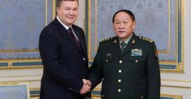 الرئيس يانوكوفيتش يبحث مع وزير الدفاع الصيني تعزيز العلاقات الاسترتيجية بين كييف وبكين