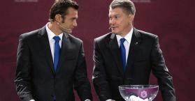 المدرب بلوخين واللاعب شيفتشينكو يحملان آمال أوكرانيا في بطولة اليورو