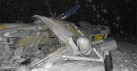 مصرع 5 أشخاص إثر تحطم مروحية عسكرية وسط أوكرانيا