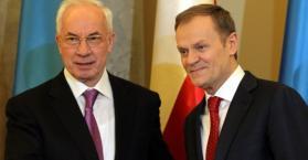 توسك: العزيمة لدى أوكرانيا وبولندا تجعلهما على استعداد جيد لليورو 2012