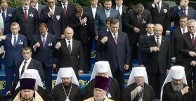 """منعا لانجرافها إلى الغرب.. بوتين يستقطب أوكرانيا """"بالمسيحية"""""""