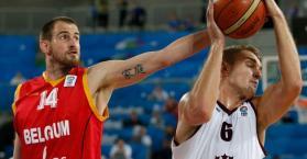 بلجيكا تهدي أوكرانيا بطاقة العبور لربع نهائي بطولة أوروبا بكرة السلة