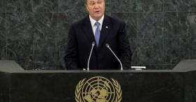 يانوكوفيتش: أوكرانيا تؤيد خطة إتلاف السلاح الكيميائي السوري