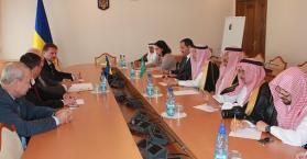 ليتفين لوفد مجلس الشورى السعودي: فرص كبيرة للاستثمار في أوكرانيا