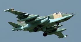 """تحطم طائرة عسكرية أوكرانية من طراز """"سو-25"""" ومقتل قائدها"""