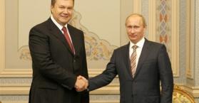 يانوكوفيتش يبحث مع بوتين إعادة العلاقات بين أوكرانيا وروسيا إلى سابق عهدها
