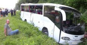 مصرع 15 روسيا وإصابة 15 آخرين إثر حادث سير مروع في أوكرانيا