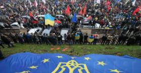 """احتجاجات الـ""""يورو ميدان"""" تدخل أسبوعها الثامن في أوكرانيا"""
