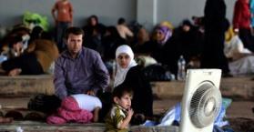 السفير الأسعد يزور عائلات فلسطينية هربت من سوريا لتحتجز في معسكر اعتقال بأوكرانيا