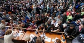 الاستفتاء على إنفصال إقليم الدنباص عن أوكرانيا