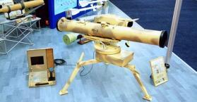 أوكرانيا تختبر منظومة صاروخية حديثة مضادة للدبابات