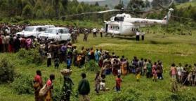 إصابة ضابط أوكراني في هجوم على مروحية لقوات حفظ السلام الأممية في الكونغو