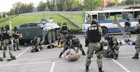 """أوكرانيا تحبط مخططا روسيا لإقامة """"جمهورية بيسارابيا الشعبية"""" بأوديسا"""