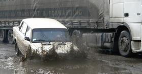 إصلاح الطرق في العاصمة كييف سيبدأ بعد وصول درجة الحرارة إلى 10 فوق الصفر