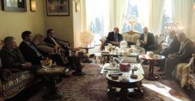مأدبة غداء على شرف تعيين ممثل جديد لأوكرانيا إلى دول الشرق الأوسط وشمال أفريقيا