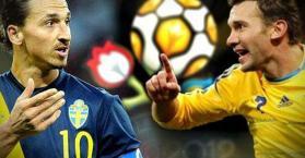شيفتشينكو وإبراهيموفيتش في مباراة داخل مباراة أوكرانيا والسويد اليوم.. فلمن الغلبة؟