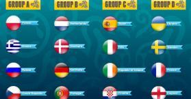 جدول مباريات الدور الأول من بطولة اليورو 2012 في أوكرانيا وبولندا