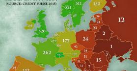 أوكرانيا تتصدر قائمة أفقر الدول في أوروبا