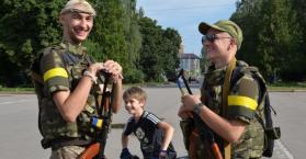 """""""أوكرانيا برس"""" في مناطق ومدن حررتها القوات الأوكرانية من الانفصاليين"""