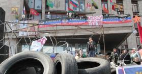 """سكان شرق أوكرانيا في """"توتر وغموض"""""""