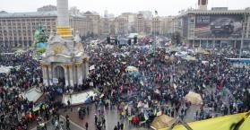 تشابه بين احتجاجات أوكرانيا وثورات الربيع العربي