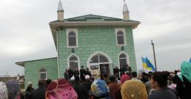 افتتاح مسجد جديد في إقليم شبه جزيرة القرم جنوب أوكرانيا
