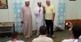 مع مسلم أوكراني جديد في يوم صيام حار وشاق