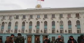 انقسام في مجتمع القرم إزاء التدخل الروسي والاستفتاء