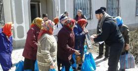 حملة لمساعدة وإغاثة مسلمي شرق أوكرانيا