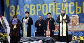 السلطات الأوكرانية تهدد بوقف نشاطات الكنيسة الكاثوليكية المؤيدة للمعارضة