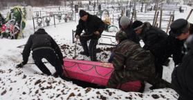 أوكرانيا تحتل المركز الثاني عالميا من حيث نسب الوفيات
