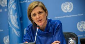 السفيرة الأميركية لدى الأمم المتحدة سامنتا باور