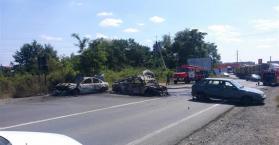 قتلى وجرحى في تبادل لإطلاق النار بمدينة موكاتشيفو غرب أوكرانيا (صور)